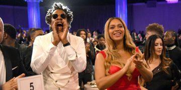 Beyonc & JAY-Z, Naomi Campbell, Trevor Noah Spotted at the Clive Davis 2020 Pre-Grammy Gala