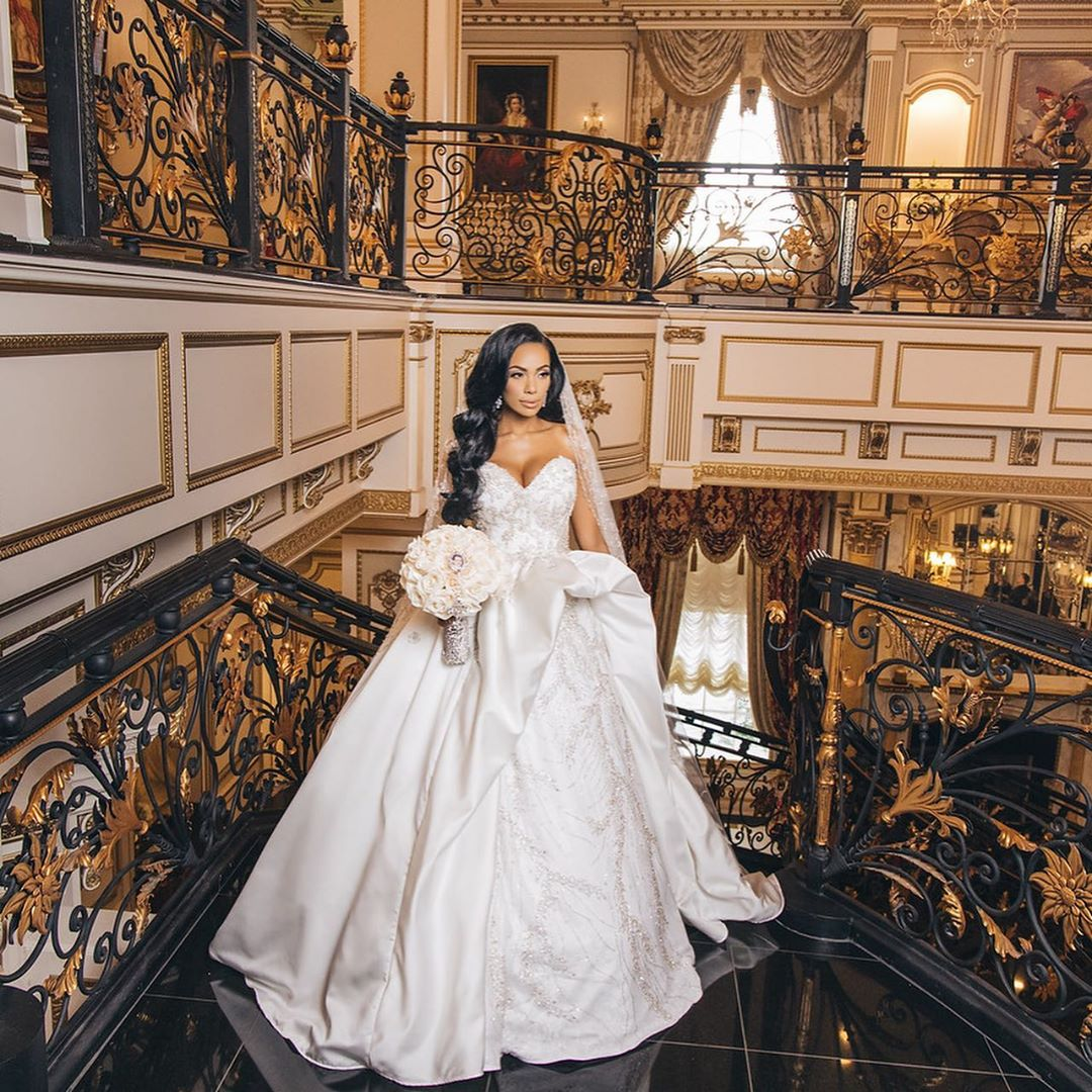 Erica Mena and Safaree Samuels Finally Give us a Look into their Beautiful Wedding