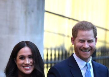 Meghan Markle & Prince Harry Spotted During Visit to Canada House