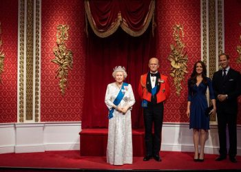 Prince Harry and Meghan Markle's Wax Figures have been Removed from Madame Tussaud's Royal Family Display