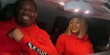 Tacha & Don Jazzy Treat us to a Fun Session of Karaoke   Watch