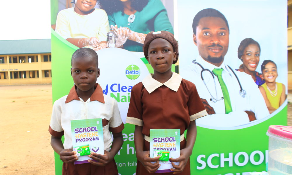 Dettol partners with Lagos State Government to promote Personal Hygiene in Schools