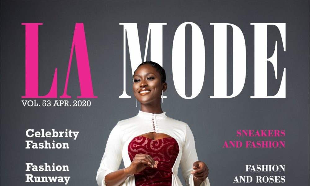 Linda Osifo is the Cover Girl for La Mode Magazine's April 2020 Issue