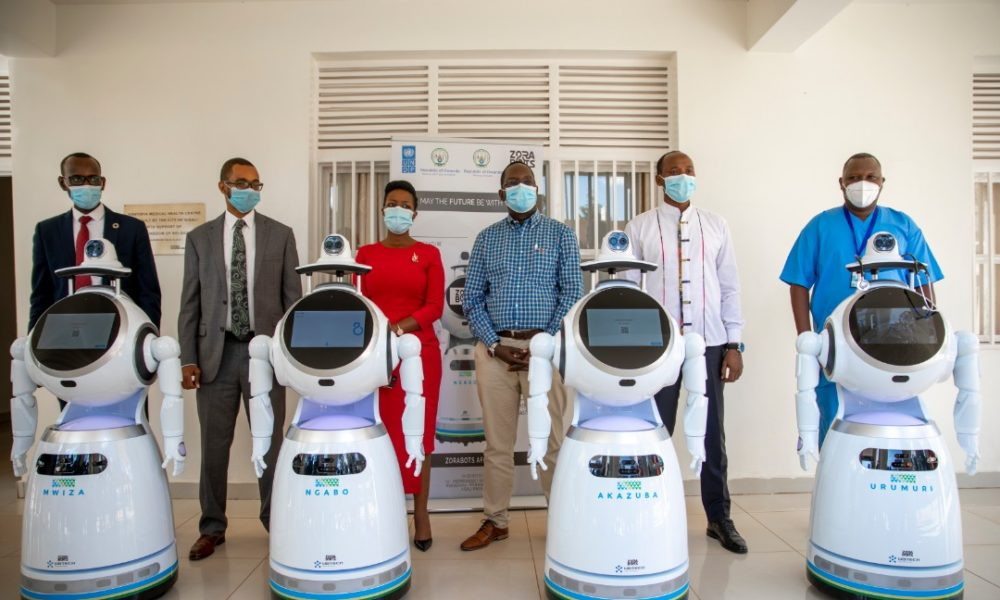 See the High-Tech Robots Helping in the Fight Against Coronavirus in Rwanda | #COVID19 Updates