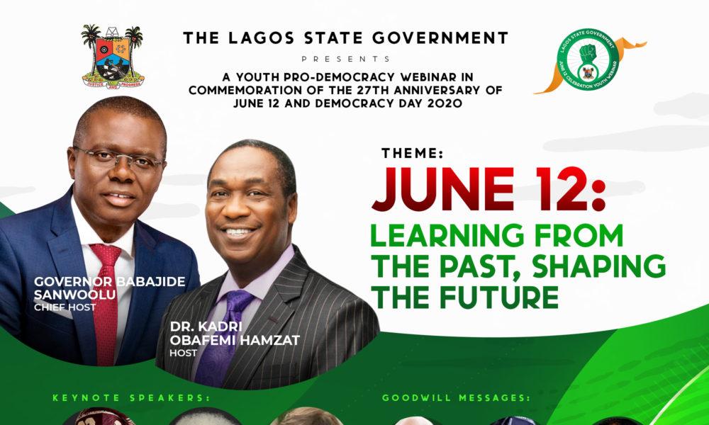 Timi Dakolo, TY Bello to join Babajide Sanwo-olu, Wole Soyinka at the Youth Pro-Democracy Webinar to Commemorate June 12 & Democracy Day