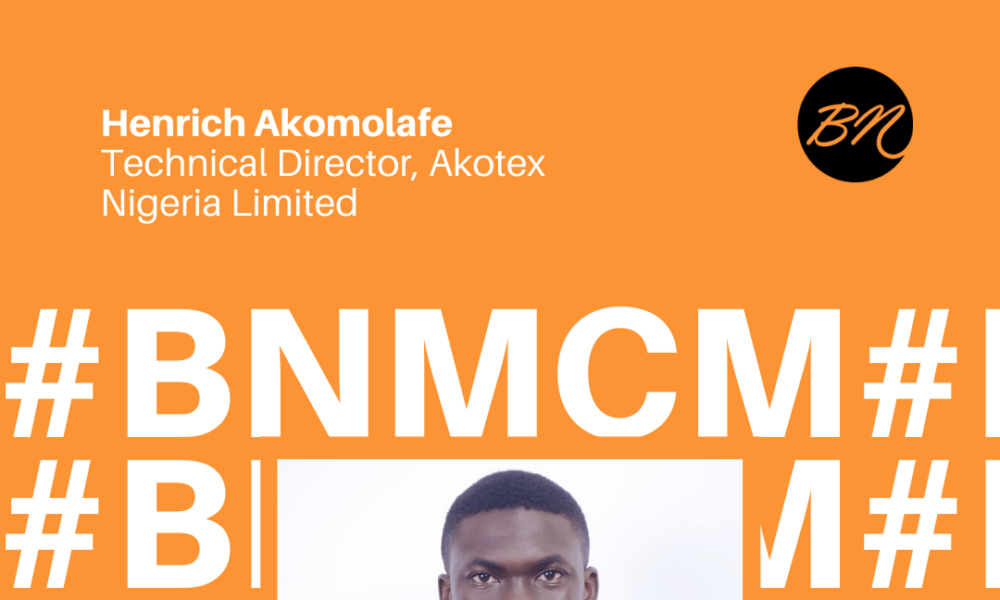 Henrich Akomolafe of Akotex Nigeria Limited is Our #BellaNaijaMCM this Week!