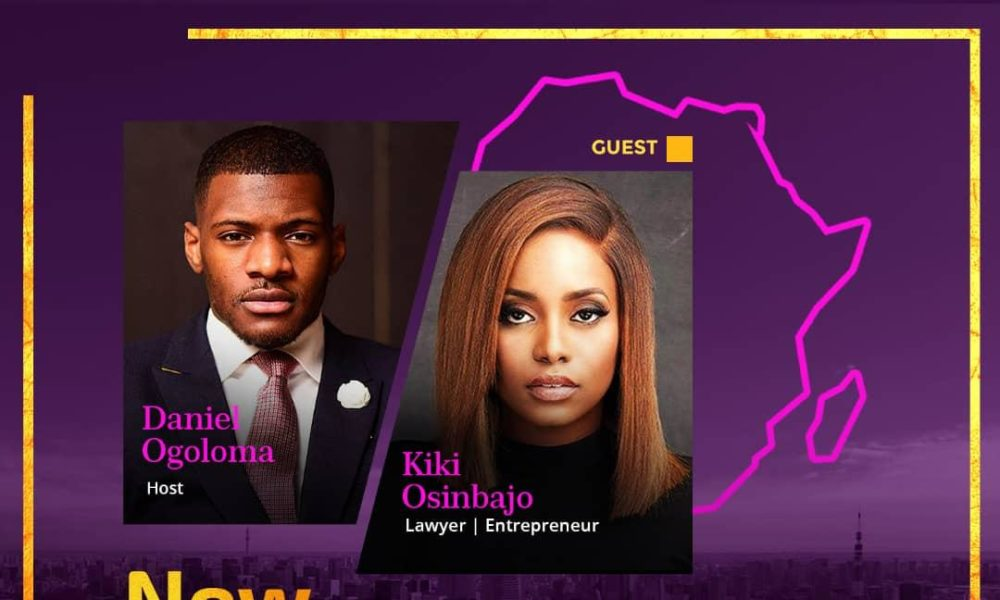 New Generation Africa hosted Lawyer & Entrepreneur, Kiki Osinbajo & Here are Few things you should Know