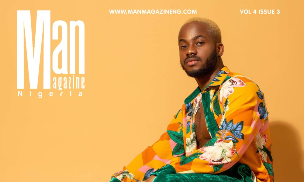Korede Bello is Such a Hottie on the Cover of Man Magazine Nigeria's Latest Issue