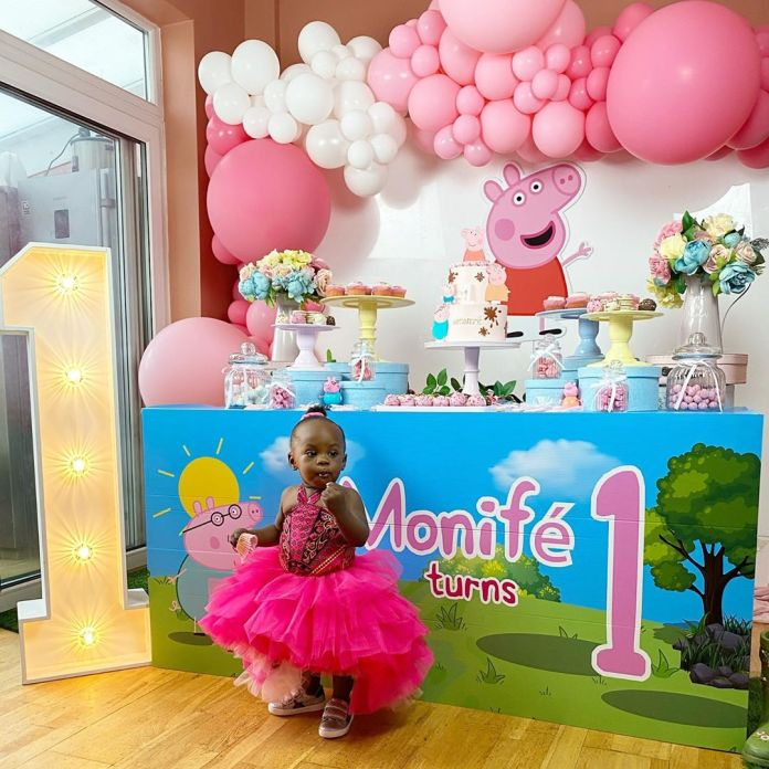 Check Out These Lovely Photos From Maria Okan Daughter's 1st Birthday 2