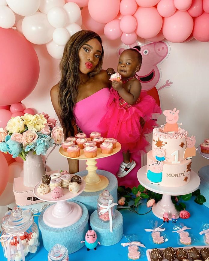 Check Out These Lovely Photos From Maria Okan Daughter's 1st Birthday 1