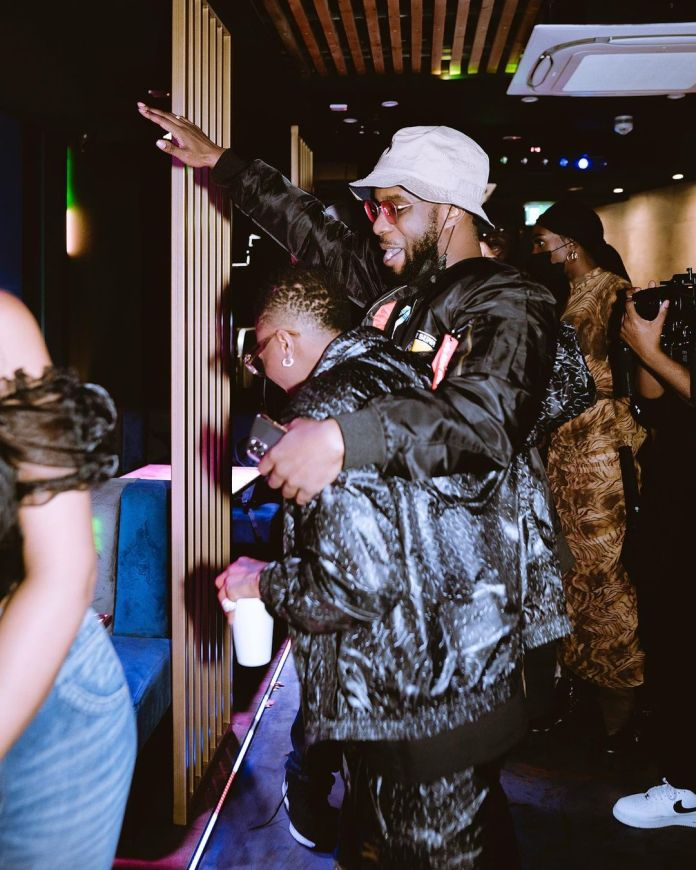 Don't Miss These Pics From Wizkid's Album Listening Party In London 3