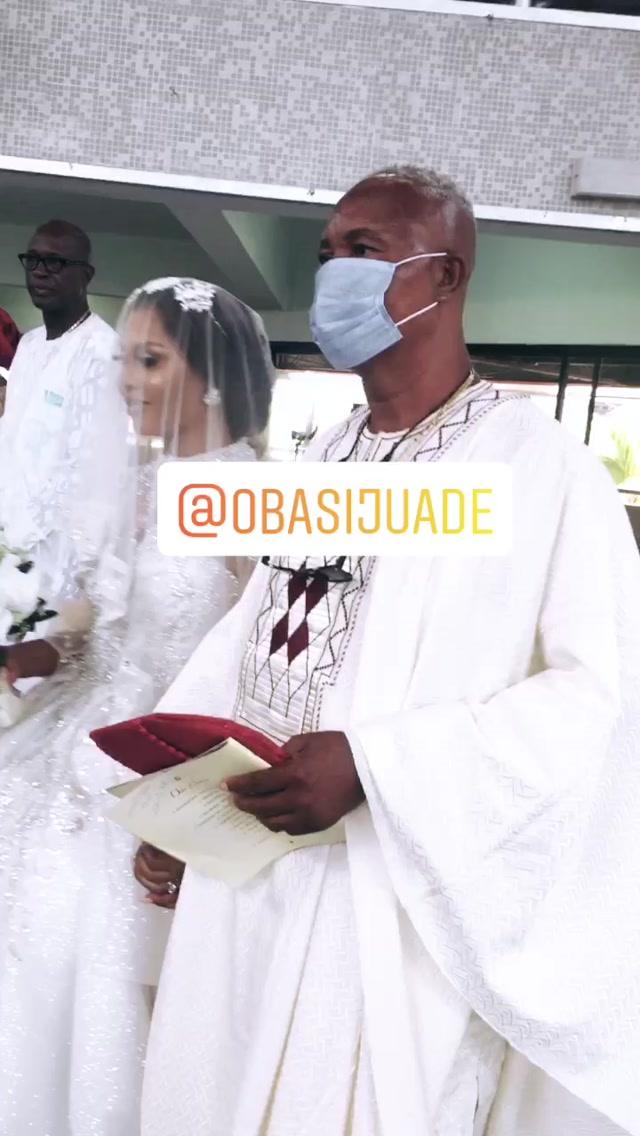 Samuel Ajibola And Sandra Adanna's White Wedding