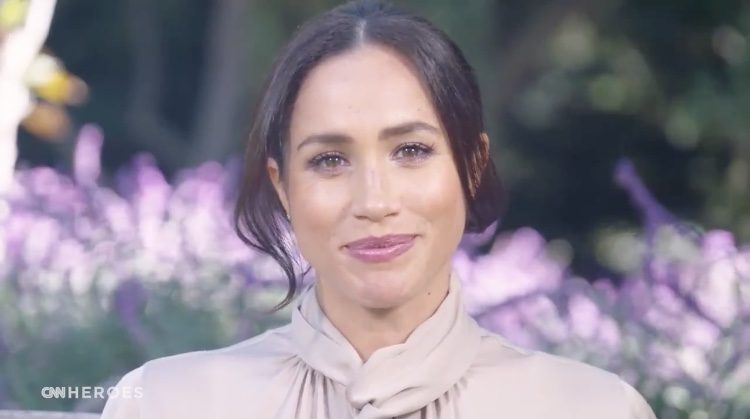 Meghan Markle Honours Covid-19 Health Workers In Surprise CNN Appearance