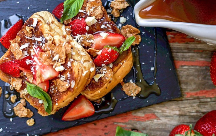 Every Day is Valentine's Day with this French Toast Recipe by Wovenblends