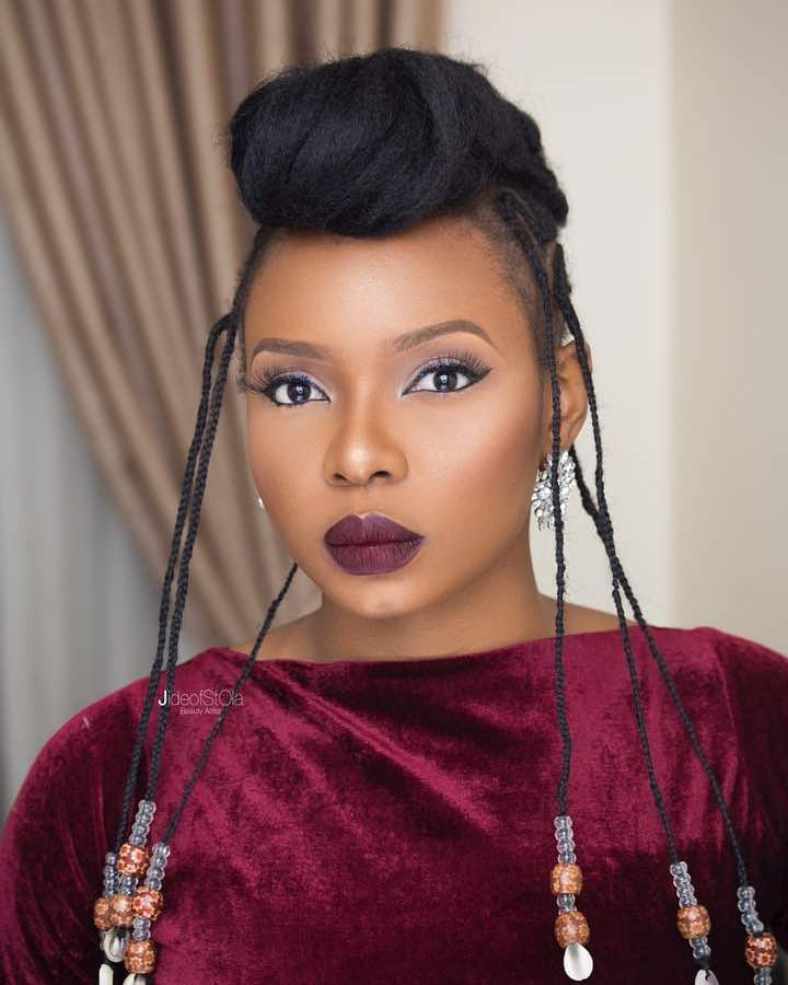 Yemi Alade Shares Her Performance Beauty Routine With Vogue Magazine | BN Style