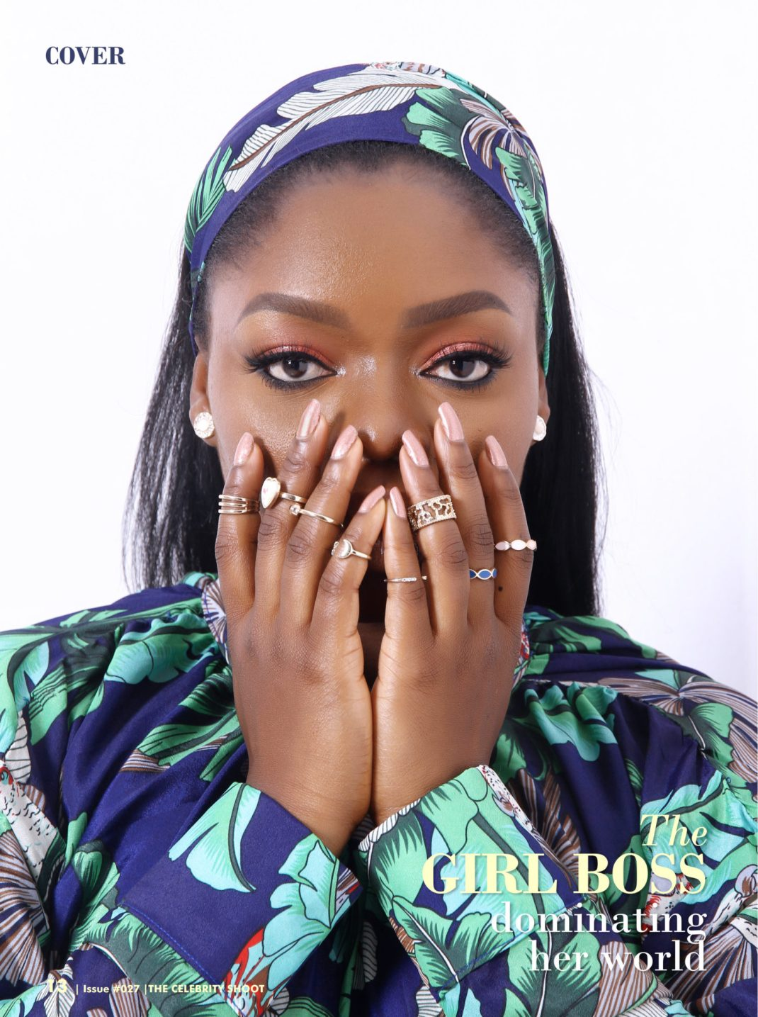 Bisola Aiyeola For The New Edition Of The Celebrity Shoot Magazine.