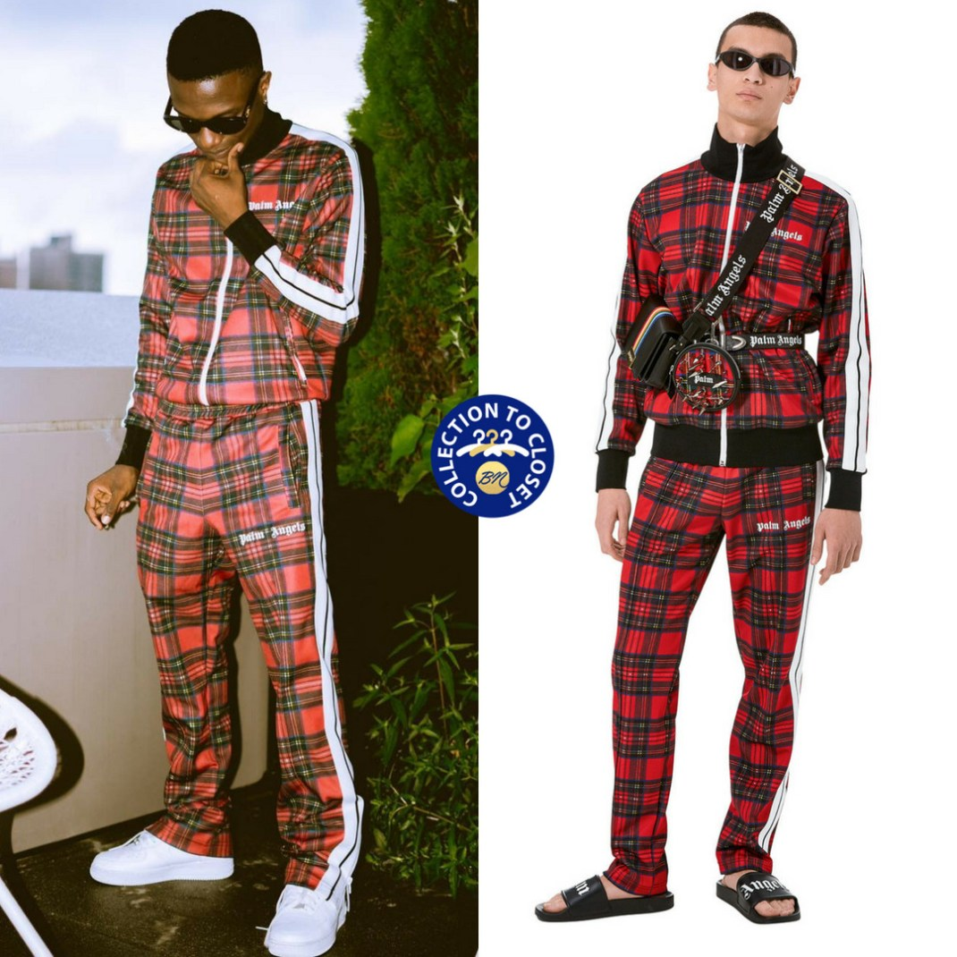 BN Collection to Closet   Wizkid In Palm Angels