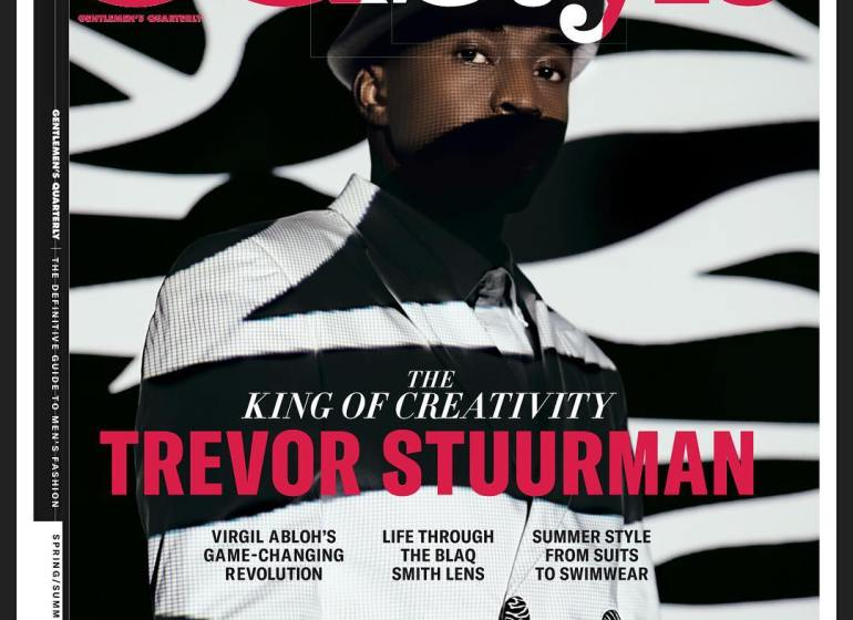 You Need To See Trevor Sturman on the Cover of GQ Style Vol.14