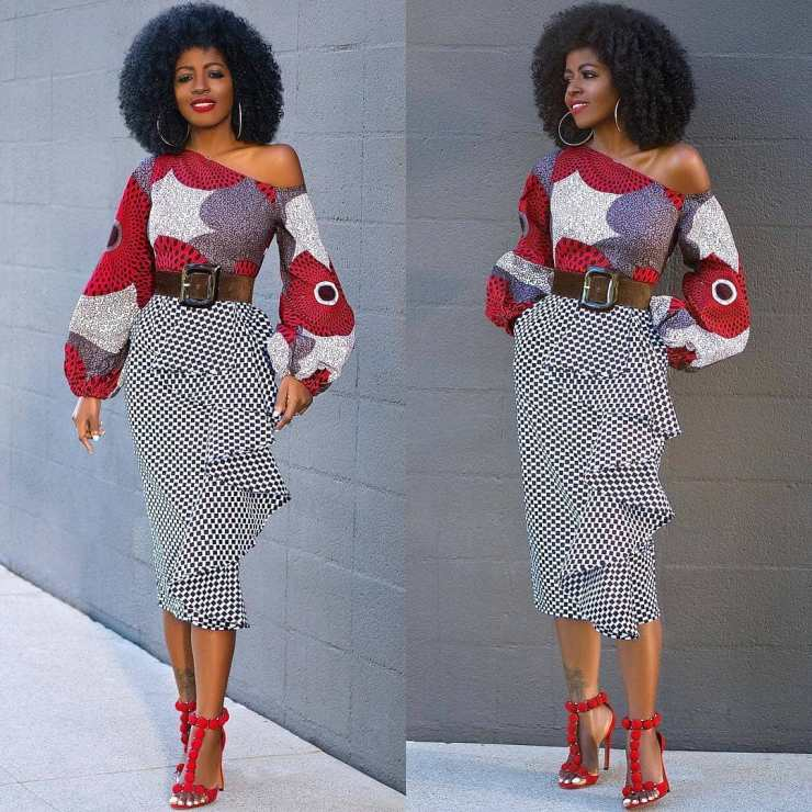 too much sauce! look perfect to any place in these amazing ankara styles TOO MUCH SAUCE! LOOK PERFECT TO ANY PLACE IN THESE AMAZING ANKARA STYLES  stylepantry in  f