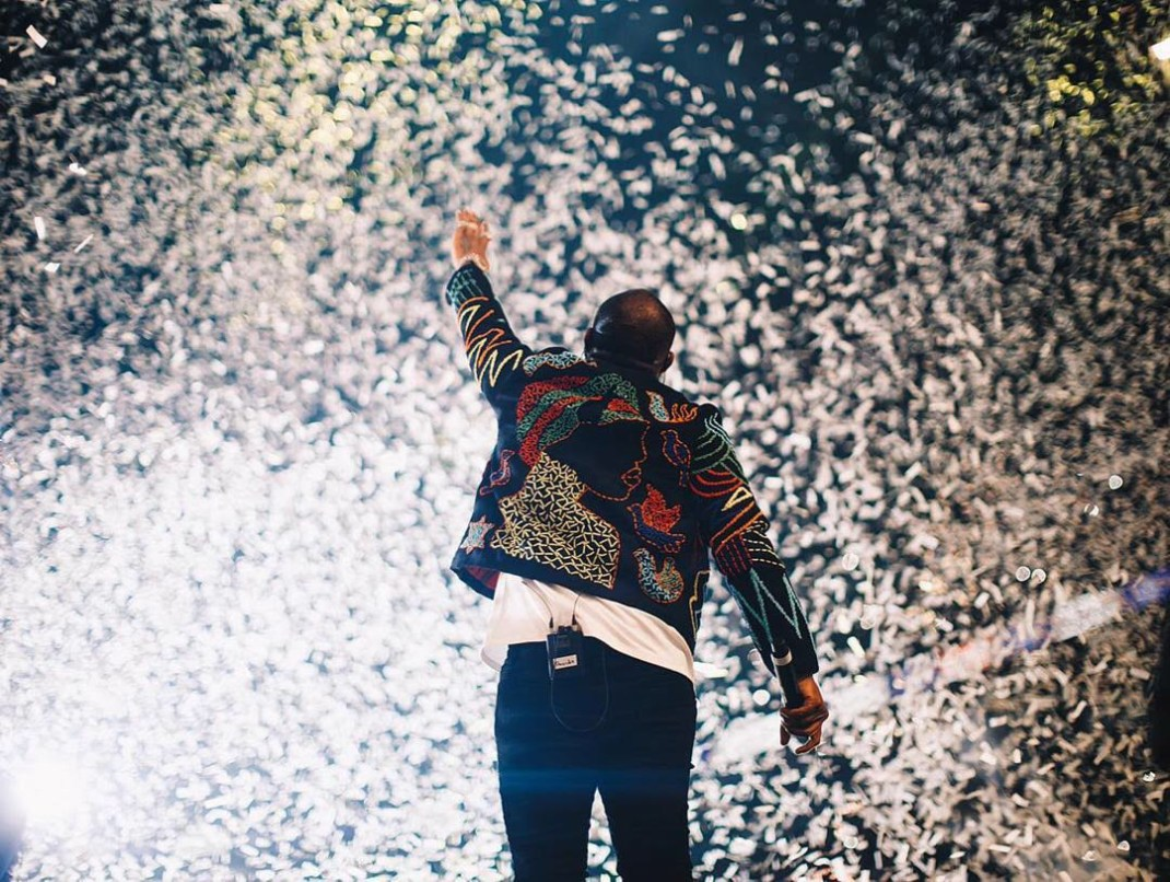 This is what Davido wore to his sold out concert at 02 arena!