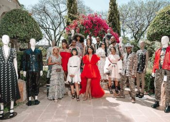 Inside the Super Stylish and Splashy Launch of Giambattista Valli x H&M #Challenge in Johannesburg | BN Style