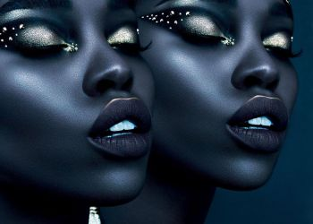 Olamide-El & Fatou Jobe Rock Futuristic Party Makeup In This Viral Vogue Arabia Feature | BN Style