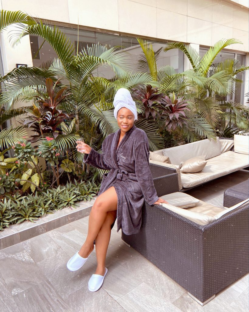 Lagoscity Stylish: I Went To Amani Spa In Ikeja & This Occurred...