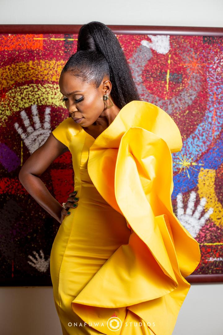 Lala Akindoju's DZYN Dress Is the Stuff of Fashion Fairytales - And We Are So Here For It | BN Style
