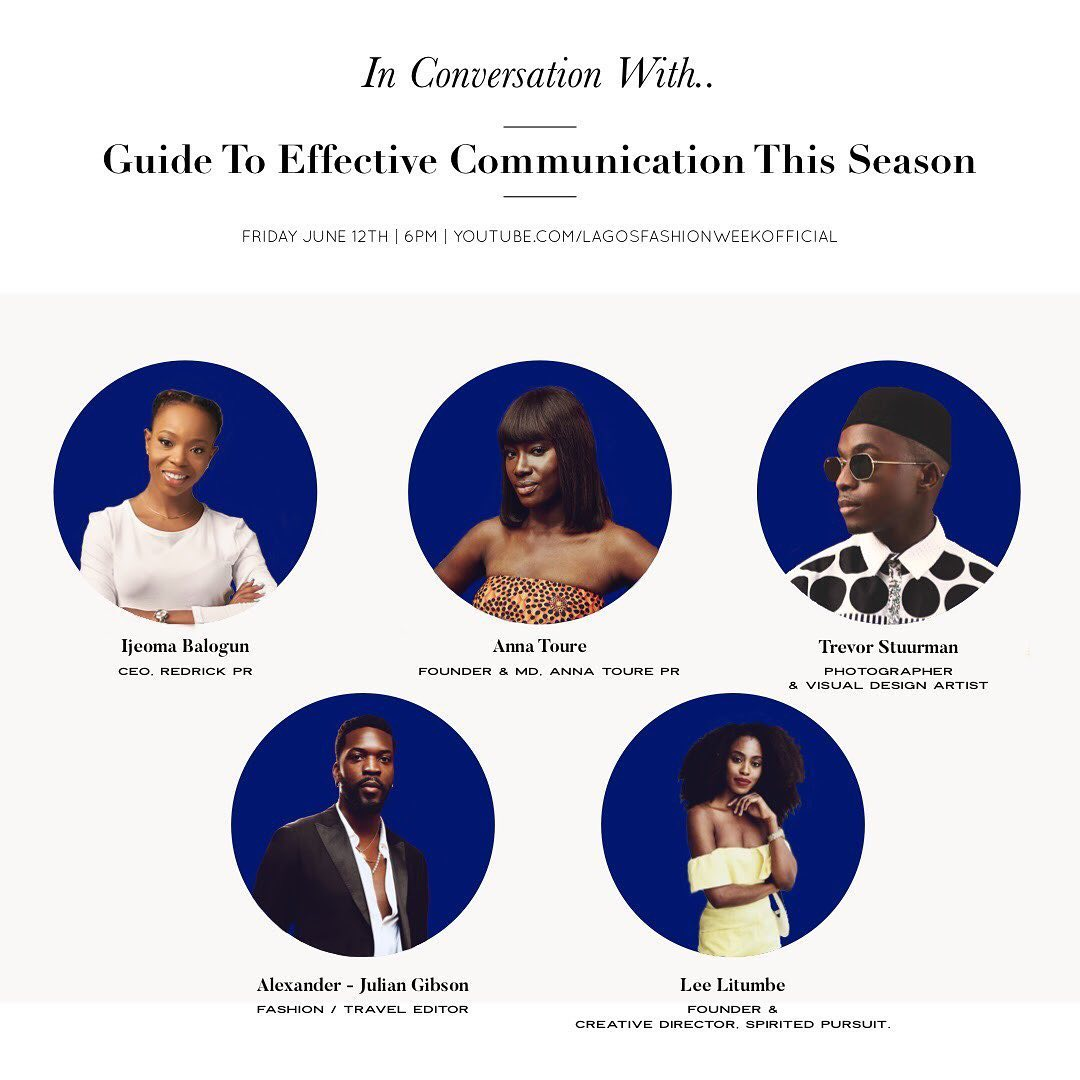 Ijeoma Balogun, Alexander Julian and More Join Omoyemi Akerele To Discuss Effective Communication in 2020 | BN Style