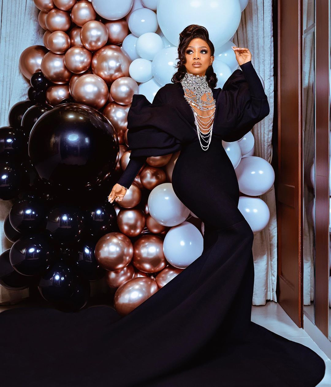 Chioma Ikokwu Just Raised The Bar On Glamorous Birthday Photo Shoots | BN Style