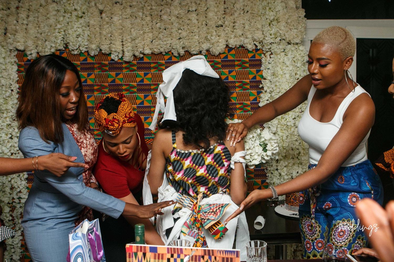 Linda Ejiofors Girls Threw Her A Surprise Safari Themed