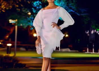The All-white #BNWeddingFlow Looks we Love at the #BamTeddy Wedding