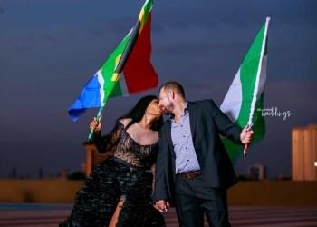 South Africa Meets Nigeria in the #Lynjaydreams19 Pre-wedding Shoot