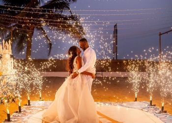 Simi & Adekunle Gold's Sweet First Anniversary Messages has us