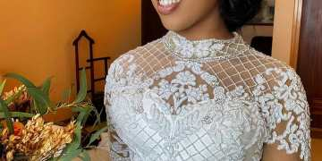 Uwaha was an Absolute Beauty for her White Wedding