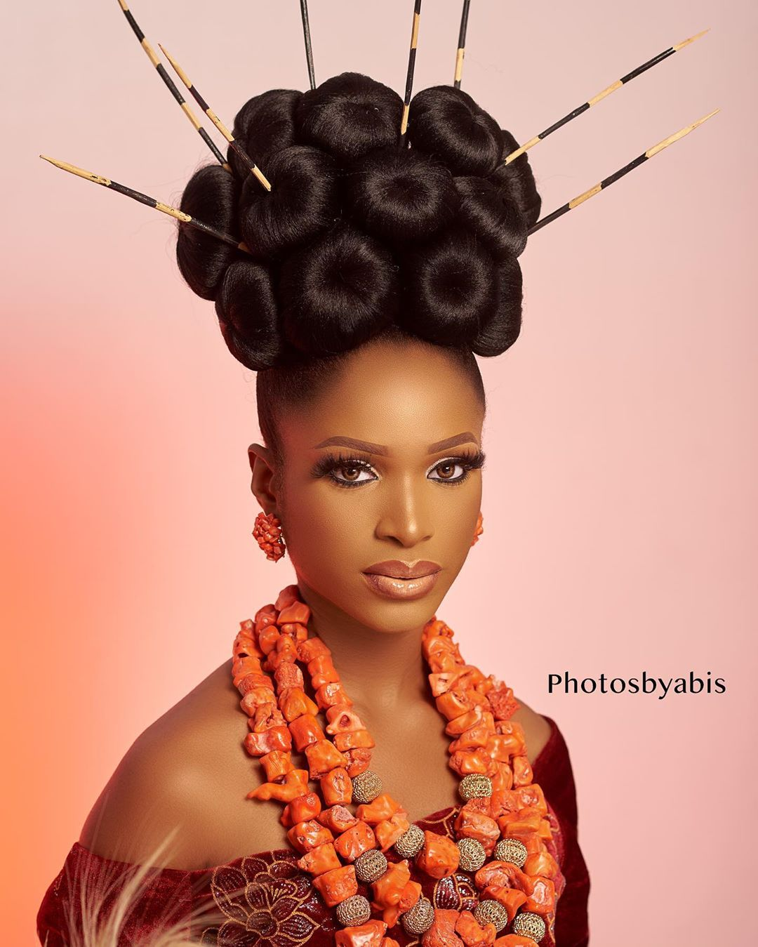 Hey Brides-to-be, Get Your Slay on with this Igbo Bridal Beauty Look