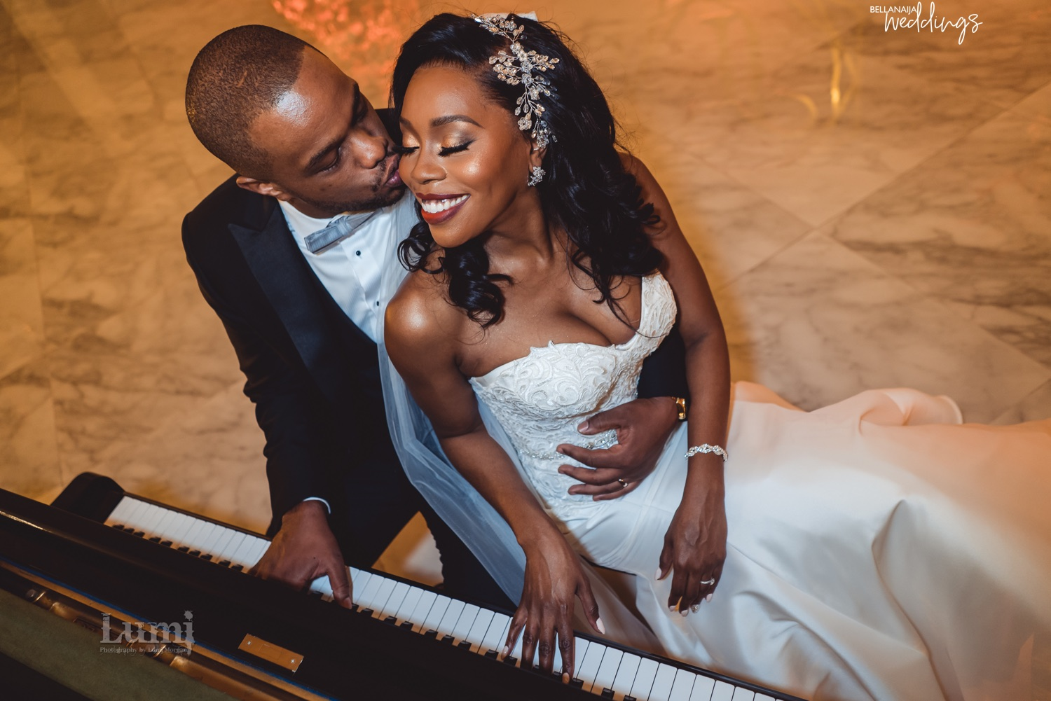 Timidi & Jamar's Outdoor Wedding is Just the Best Way to Start Your Day!