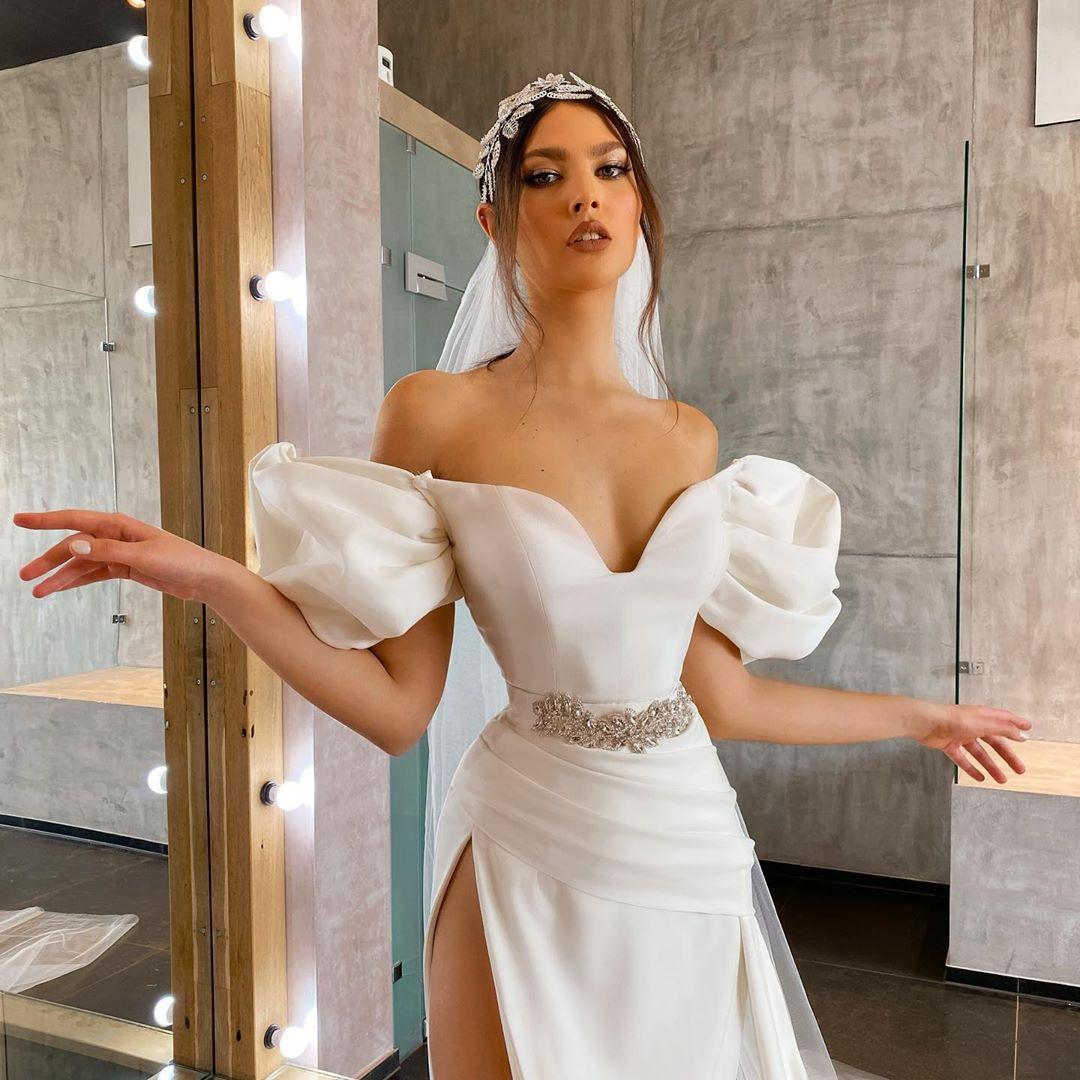 These 3 Dresses by Drenusha Xharra are Wedding Worthy
