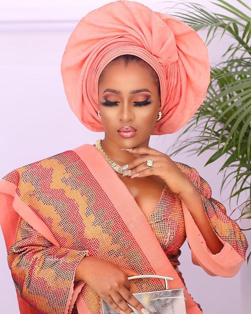 This Rose Gold Looking Bridal Beauty is Gorg! | BellaNaija Weddings