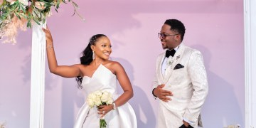 See Obianuju & Chidube's Beautiful Wedding With 20 Guests