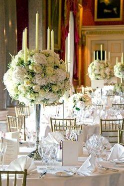 una tavola all white