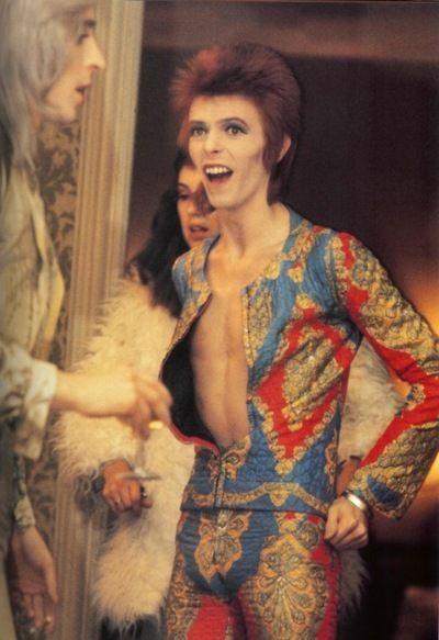 La tuta di Ziggy Stardust disegnata da Freddie Burretti (1972)