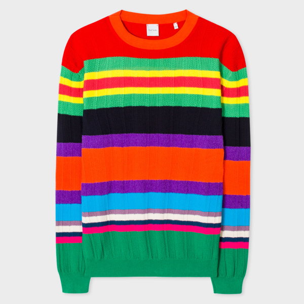 Righe multi color di Paul Smith per la P/E 2017