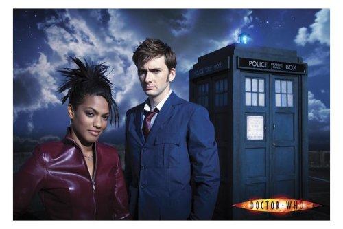 Doctor Who und Martha Jones aus den Doctor Who Serien-Büchern