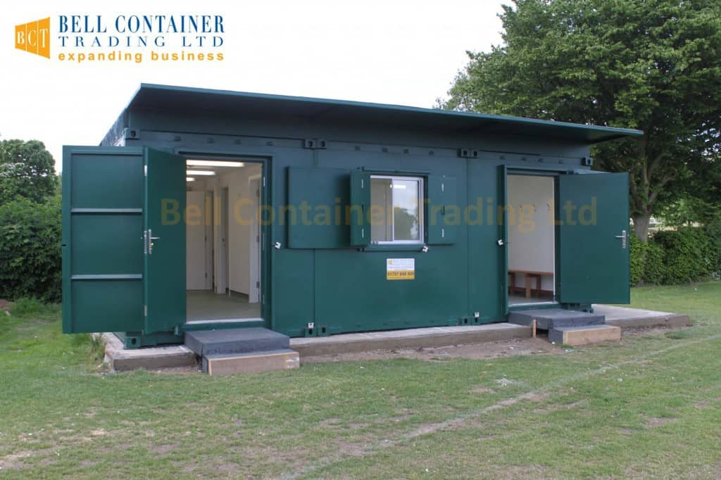 Shipping Container Conversions 40ft Changing Room