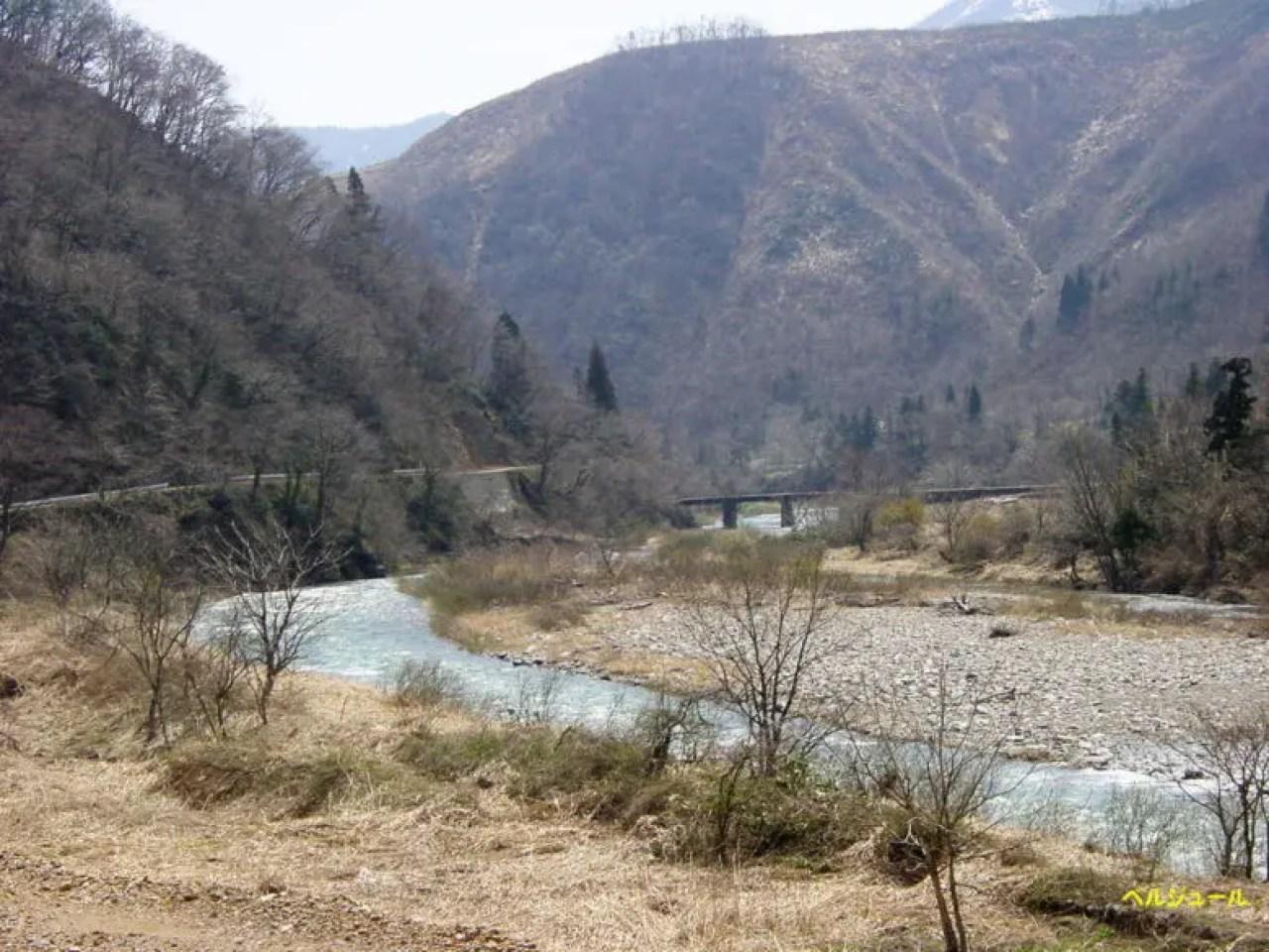 tokuyama00009 - 揖斐川上流・旧徳山村での岩魚釣り