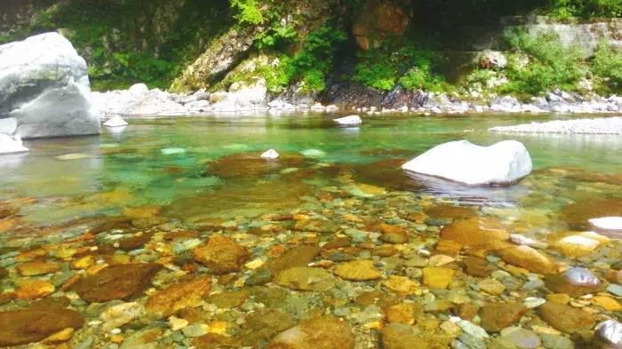 turi1706 2 - 馬瀬川渓流釣り 甥っ子の初アマゴ釣り
