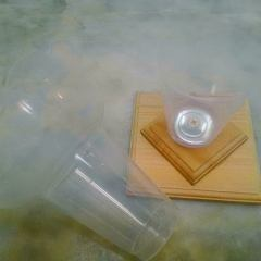 wp010 - かき氷のカップ器 倒れない為の専用土台? DIY