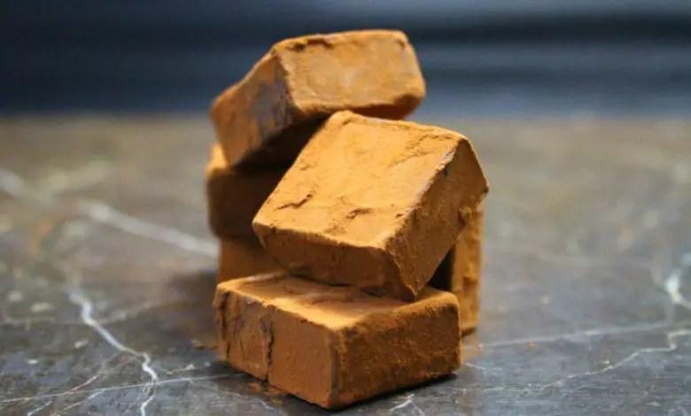 choco002 - 生チョコレート 布袋の石畳
