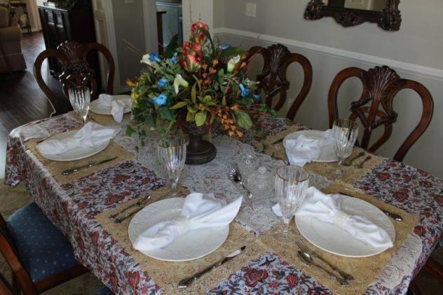 Belle Bleu Interiors-Anniversary Tablescape 1